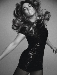 Dance, dance. Jennifer Lopez in dress from Michael Kors Collection, May 2016, W Magazine, US.