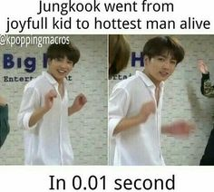 BTS Kookie Be Like