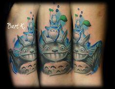 my neighbor totoro tattoo My Neighbor Totoro, Watercolor Tattoo, Nerd, The Incredibles, Tattos, Tattoo Ideas, Frames, Ink, Frame