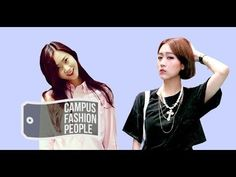 CAMPUS FASHION PEOPLE 06.SEJONG UNIV. JI-AE&YOUNG-EUN (USING BAGGY PANTS...