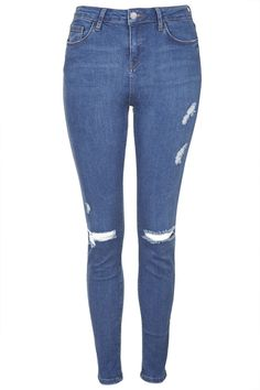SHOP THE LOOK - MOTO Ripped Jamie Jeans - Topshop
