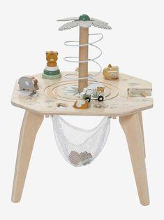 Table multi-activités HANOÏ en bois FSC® multicolore - 😍 Découvrir ici - #Jouets #Vertbaudet #JouetsVerbaudet #enfants #jeuxpremierage #jeux #bebe #jouet