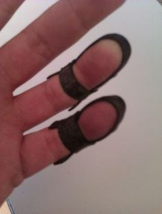 Finger Protectors - Steel Guitar Strings: 4 Steps