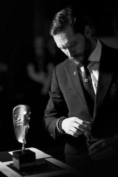 Nice beard, nice suit.