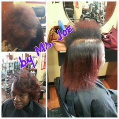 natural hair straightened and style #Afromeric #AfroHairess