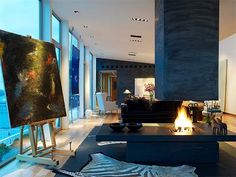 Swedish Penthouse in Stockholm 3 Exceptional artistic penthouse apartment overlooking Stockholm