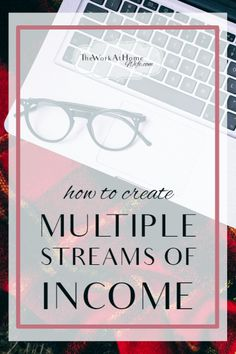 Great examples of how to create multiple streams of income from home