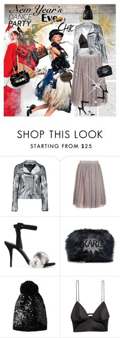"""""""New Year Eve Dance Party Chic"""" by stylepersonal ❤ liked on Polyvore featuring Boohoo, Oh My Love, Alexander Wang, Karl Lagerfeld, Betsey Johnson and danceparty"""
