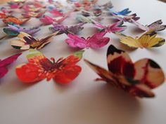Craft Room Confidential: Butterfly Collage