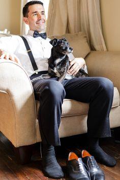 Elegant Philadelphia Wedding at The Pyramid Club by Ashley Gerrity Photography Stylish Men, Men Casual, Suspenders Fashion, Sheer Socks, Beautiful Men Faces, Black Socks, Philadelphia Wedding, Gentleman Style, Men Dress