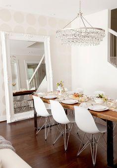 salle à manger scandinave vintage