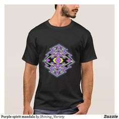 Purple spirit mandala