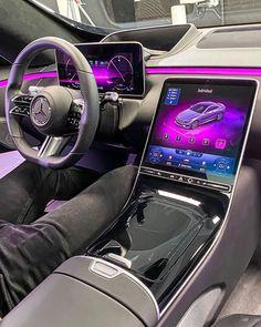 Mercedes Amg, Carros Mercedes Benz, Mercedes S Class Interior, Best Car Interior, New Car Accessories, New Luxury Cars, Bmw Autos, Car Goals, Benz S