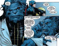 Show me how awful Beast is Comic Book Characters, Comic Books, Absorbing Man, Man Beast, What Team, Charles Xavier, Black Lightning, Xmen, Gi Joe