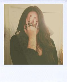 Polaroid // rings