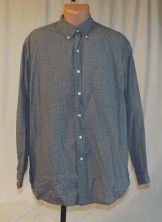 Eddie Bauer Mens Large Button Down Dress Shirt Long Sleeve #EddieBauer
