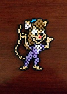 Chip 'n Dale Rescue Rangers Inspired 8 Bit Perler - Gadget by eb. Geek Gadgets, Baby Gadgets, Cool Gadgets, Camping Gadgets, Travel Gadgets, Electronics Gadgets, Perler Beads, Perler Bead Art, Fuse Beads