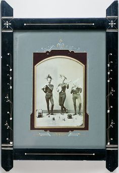 1870s Picture frame, Eastlake style