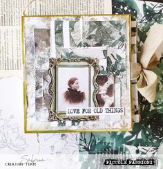 LOVE FOR OLD THINGS junk journal by Sabrina P. Medium Art, Junk Journal, Mixed Media Art, Old Things, Love, Creative, Amor, Scrapbooking, Mixed Media
