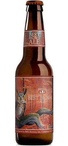 Best Brown Ale from Bells Brewing: More Beer, All Beer, Wine And Beer, Best Beer, Pumpkin Beer, Happy Hour Drinks, Home Brewing, Brewing Beer, Beer Brands