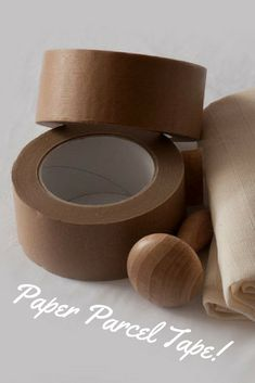 Great alternative to plastic packing tape! Recyclable strong brown paper packing tape with a long lasting natural adhesive #plasticfree #aff