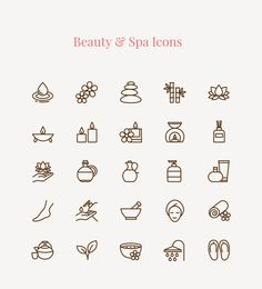 Hi designers, today I'm going to introduce for you the Beauty & Spa Free Icon Sets. This set contains 25 vector appealing beauty and spa icons. If you have a spa or beauty center or designing for something related so I highly recommend these icons set for designing websites, apps or any other print media. All you need to do is feel free to download and enjoy it. Hope you like it as much as I do!