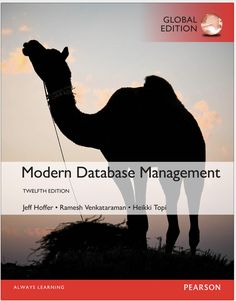 Modern Database Management 12th Global Edition $19.99