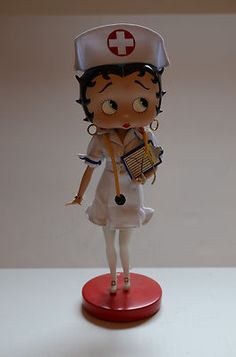 Nurse Betty Boop Doll