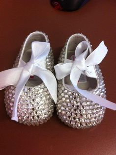 Sparklicious Bling Booties from lilys attic ... fit for any little princess!!