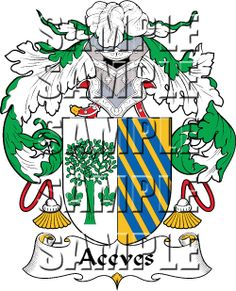 Aceves Family Crest apparel, Aceves Coat of Arms gifts