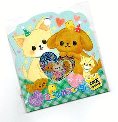 bbb1108f Details about Rare Crux Puppy Party Jam Sticker Sack stickers flakes  stationery seals