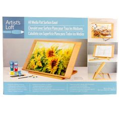 Artist's Loft™ All Media Flat Surface Easel