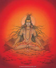 Ganga in Shiva's Hair by Pieter Weltevrede