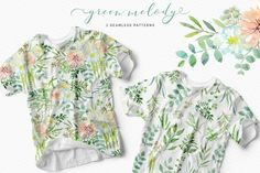 Green melody by OJardin on @creativemarket