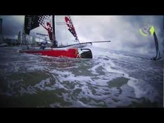 Extreme Catamaran Sailing at Round Texel Race 2011