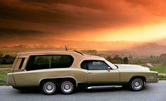 1978 Cadillac Eldorado Wagon: TAG Function Car - Mobile Executive Suite by Franco Sbarro Cadillac Eldorado, Weird Cars, Cool Cars, Station Wagon Cars, Grand Luxe, Colani, Pontiac, Shooting Brake, Transporter