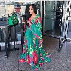 We love our greens @mizwanneka #StyleMeAfrica