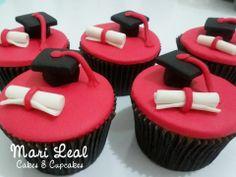 Cupcakes de formatura