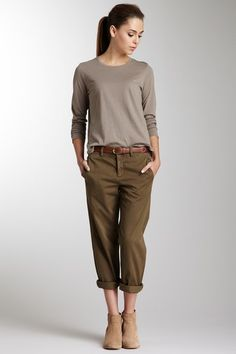 Vince Coin Pocket Slouch Chino Pant by Blowout on @HauteLook