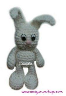Crochet Patterns Galore - Little Bigfoot Bunny