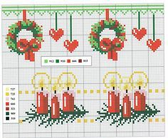 Point de croix Noël*m@* Cross stitch