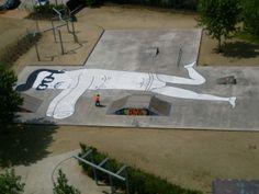 Focus sur les réalisations de l'artiste espagnol Faif (Pau Sampera) basé à Barcelone,
