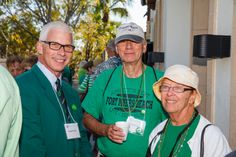 Emmanuel College Alumni St. Patrick's Event | Naples, FL | 3.15.14 - George Duke VP of Development & Alumni Relations with Judith  Kelso Nass '57 and David Nass