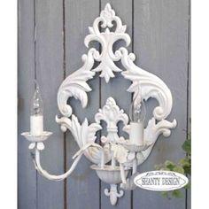 vecchi lampadari : Vecchi lampadari in Stile Shabby Chic - Il blog italiano sullo Shabby ...