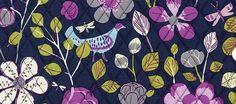 My top Vera Bradley patterns of Fall 2012.  2. Floral Nightingale