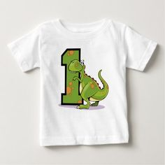 Birthday Dinosaur Baby T-Shirt - tap, personalize, buy right now! The Good Dinosaur, Stylish Baby, Baby Shirts, Your Child, Children, Kids, Cricut, Birthday, Mens Tops