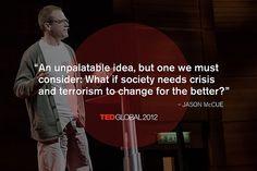 Jason McCue at TEDGlobal 2012. Photo: James Duncan Davidson