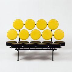 George Nelson: Marshmallow, Sofa, 1956. Sammlung Vitra Design Museum; © Vitra Design Museum