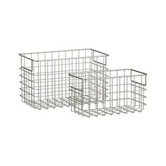 Wire Baskets - organization for pantry