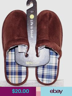 f305fa9d1f Life is Good Fashion Slippers  ebay  Clothing